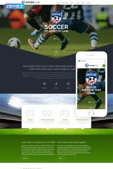 Soccer Joomla Templates