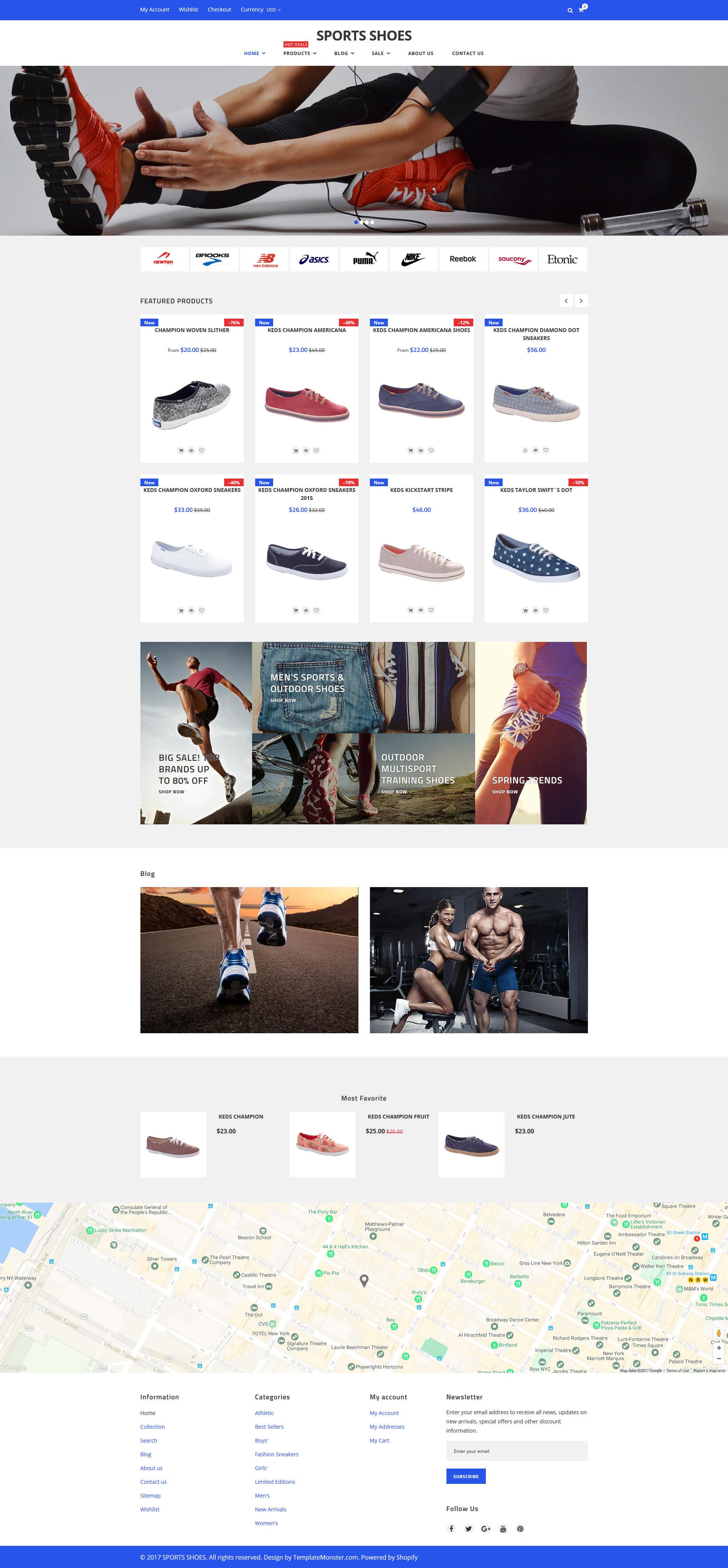 Sport Shoes - Responsive №62230