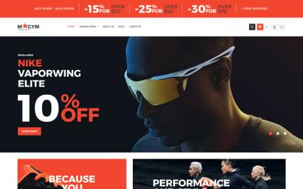 Sports Store VirtueMart Template