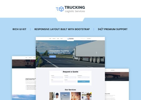 Logistics & Transportation Services  HTML