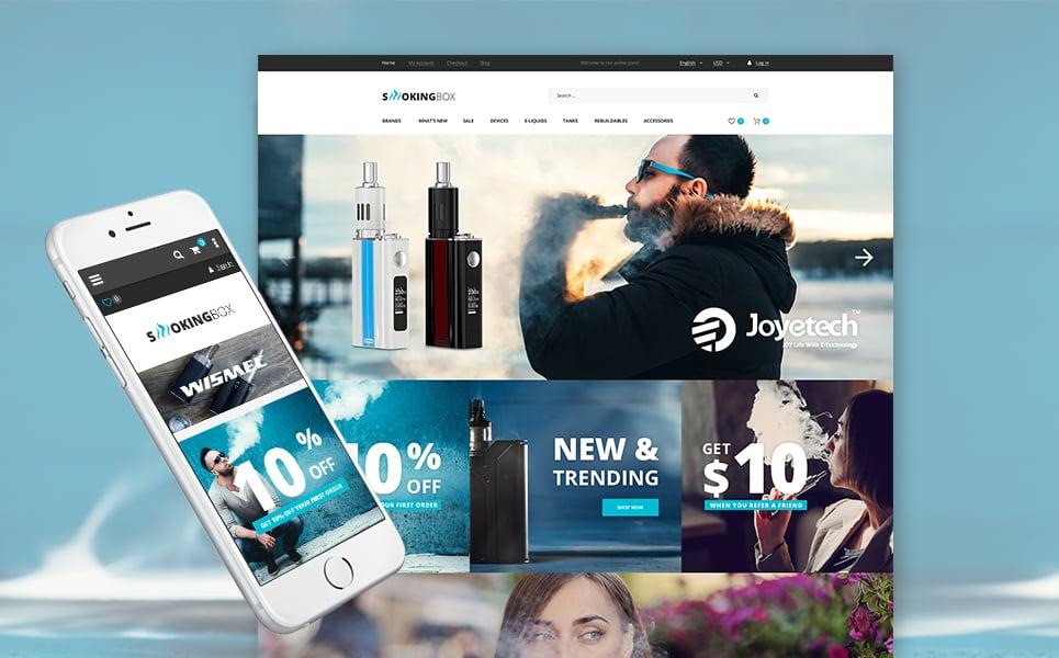 Vapor Electronic Cigarette Magento Store - Free online invoice creator online vape stores