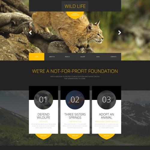 Wild Life - Joomla! Template based on Bootstrap