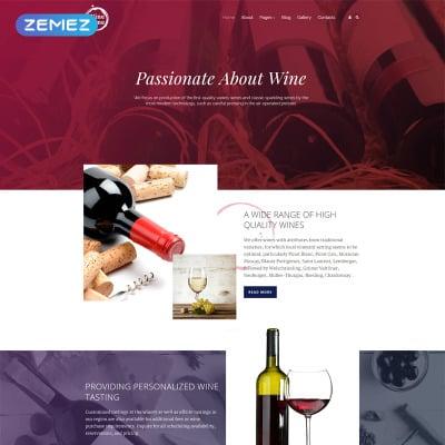 Wine Templates   TemplateMonster