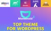 "WordPress Theme namens ""Monstroid 2 "" Großer Screenshot"