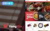"""YangXin - Chinese Restaurant"" thème Magento  New Screenshots BIG"