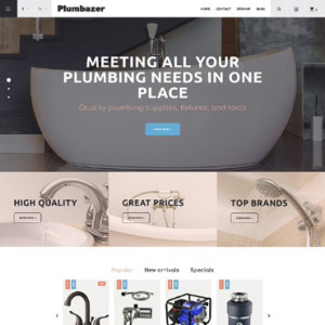Screenshot of Plumbaser Plumbing Supplies