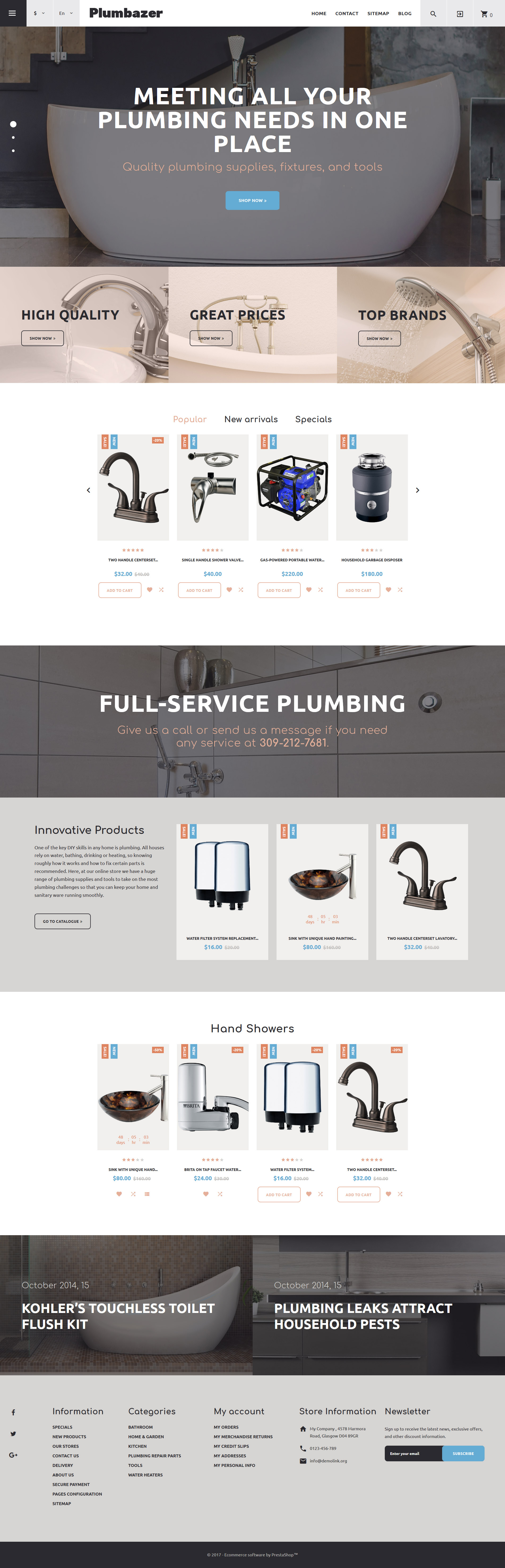 Website Design Template 62302 - supplies company drain heating system installation preventive maintenance repair spanner tools sewer tap faucet sink employment staff master plumber tips hint standard offer experience special expert