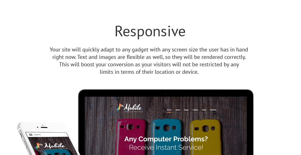 Mobile - Mobile Repair Service Responsive Joomla Template