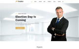 Responsivt Freedom Political Party Multipage HTML Hemsidemall