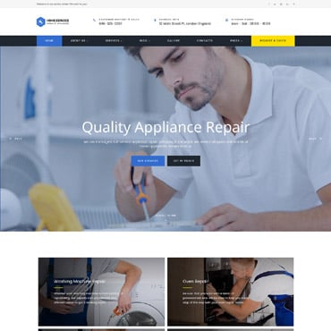 Preview image of Home Appliance Repair Service Multipage
