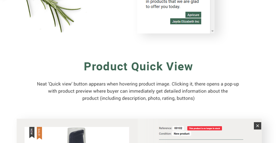 Website Design Template 62329 - milk lotion hand client