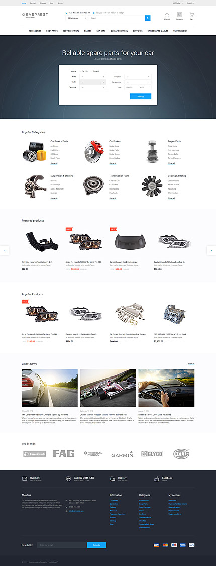 Website Design Template 62342 - spares online products air freshener cooling headliners battery accessories dashboard cover lighting bug shield decals racing novelties bulk hose electrical rear deck covers custom fit electronics seat