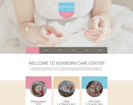 Newborn Responsive Joomla Template