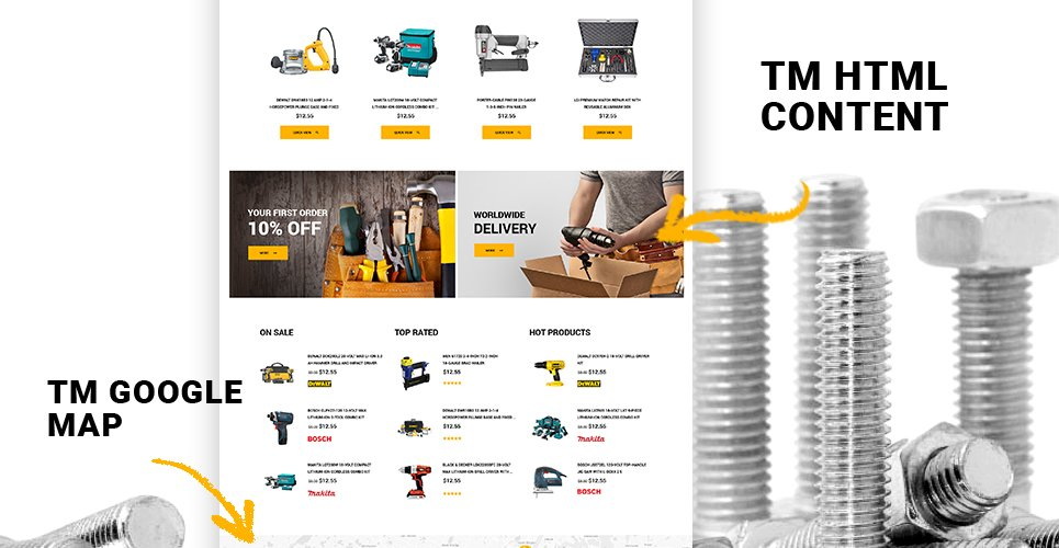 Website Design Template 62363 - profile standard drill gardening motor master cordless air electric pliers advice dealership repair rent cutting clamps automotive remover puller