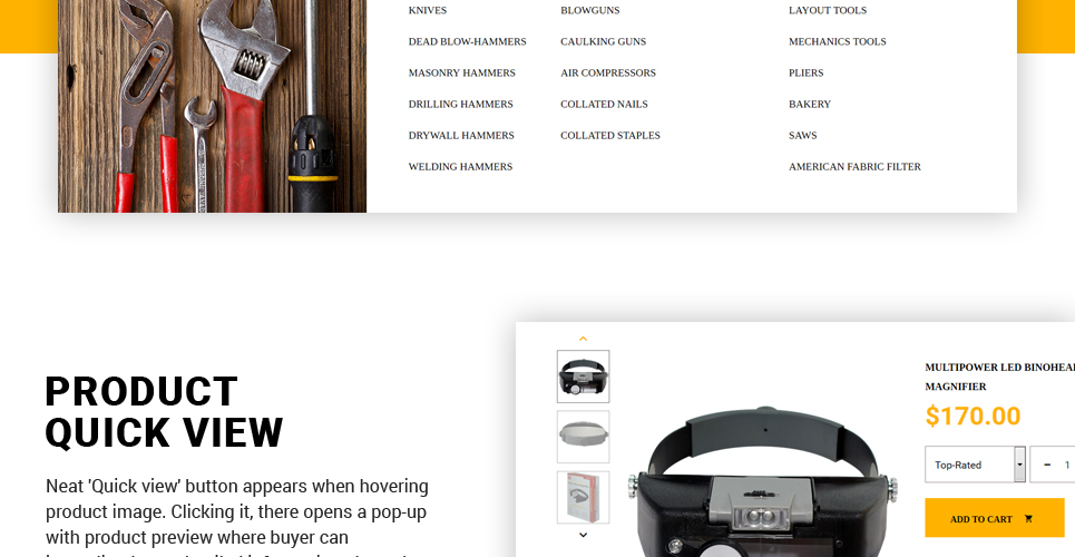 Website Design Template 62363 - air electric pliers advice dealership repair rent cutting clamps automotive remover puller