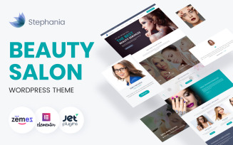 Stephania - Beauty Salon & Skin Care WordPress Theme