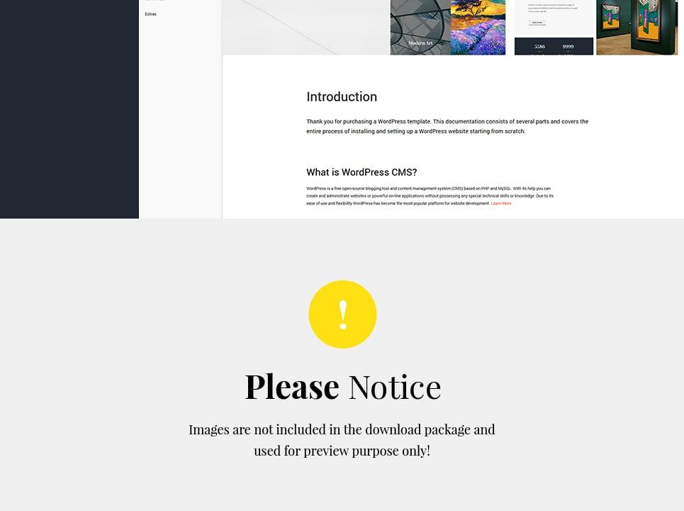 Tema de WordPress #62373 para Sitio de Galerías de arte