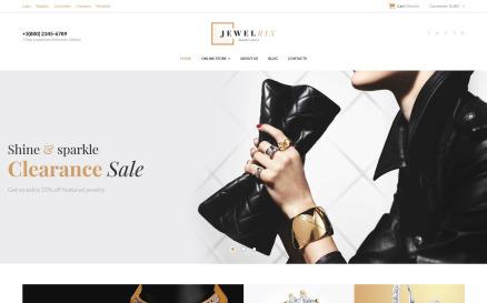 Jewelrix - Jewelry Collection VirtueMart Template