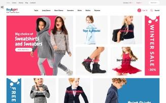 Boy&Girl - Kids Fashion Responsive PrestaShop Theme