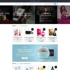 Screenshot of Perfume Online Shop Cosmetic