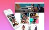Адаптивный Shopify шаблон №62380 на тему магазин купальников New Screenshots BIG