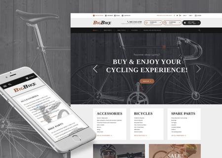 Bike Shop Responsive
