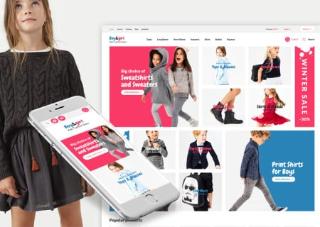 Kids Designer Clothes Responsive Prestashop