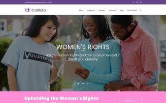 Callista - Charity & Fundraising WordPress Theme