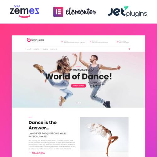 Emanuella  - Responsive WordPress Template