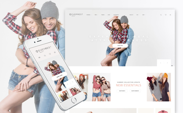 Eveprest - Fashion Boutique PrestaShop Theme New Screenshots BIG