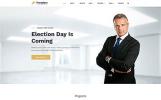 """Freedom Political Party Multipage HTML"" modèle web adaptatif"