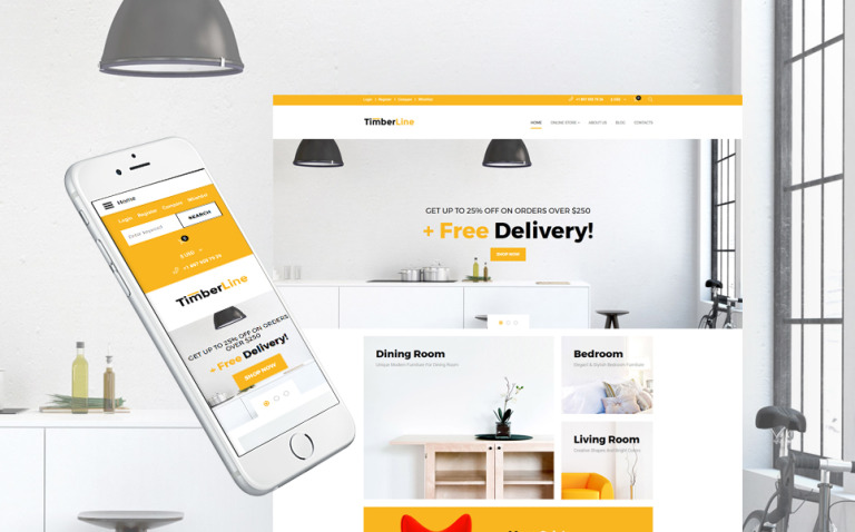 Furniture Responsive VirtueMart Template New Screenshots BIG