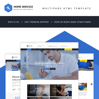 Home Repairs Templates | TemplateMonster on