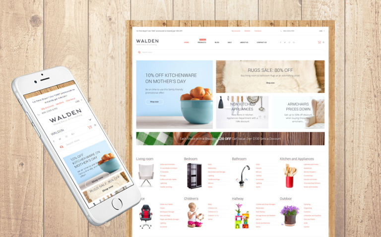Home Decor & Furnishing Online Supermarket Shopify Theme New Screenshots BIG