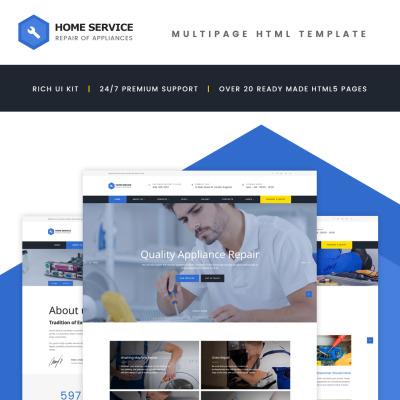 Template siti web di business for Siti web di home plan