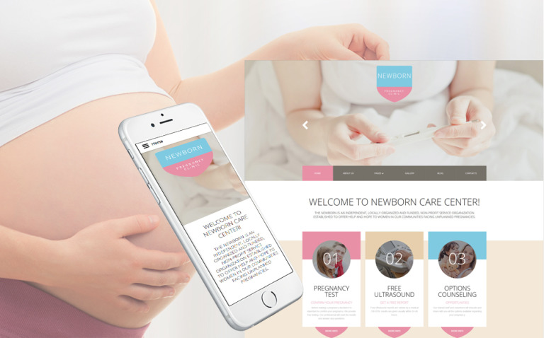 Newborn Responsive Joomla Template New Screenshots BIG