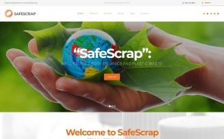 Recycling Services Environmental WordPress Theme