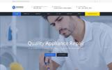 Responsive Home Appliance Repair Service Multipage Web Sitesi Şablonu