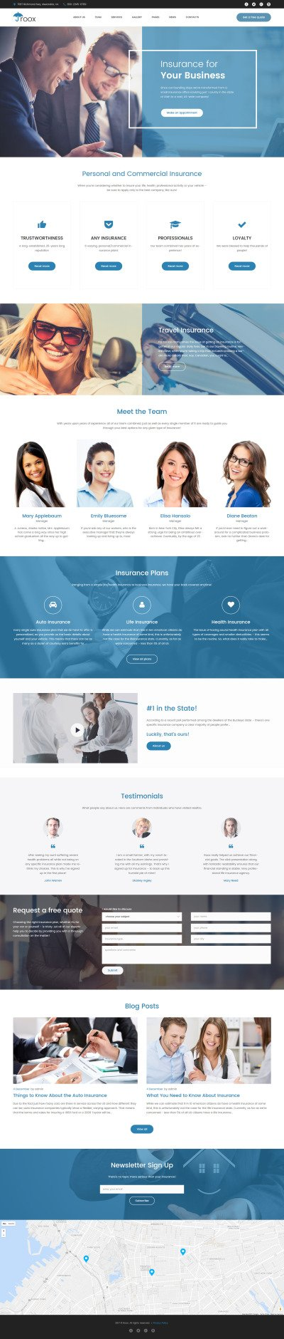 Accounting Website Responsive WordPress Teması
