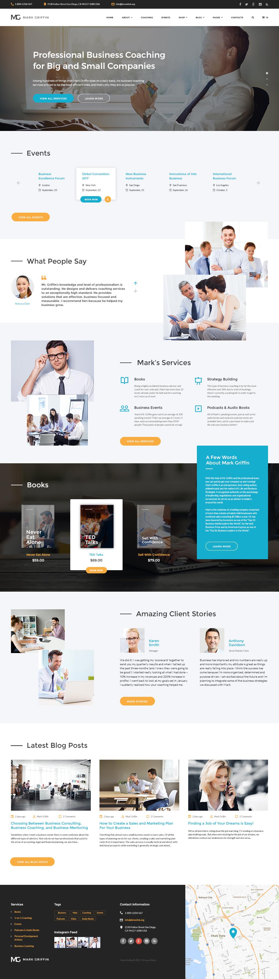 Website Vorlage #62311 für Business Services