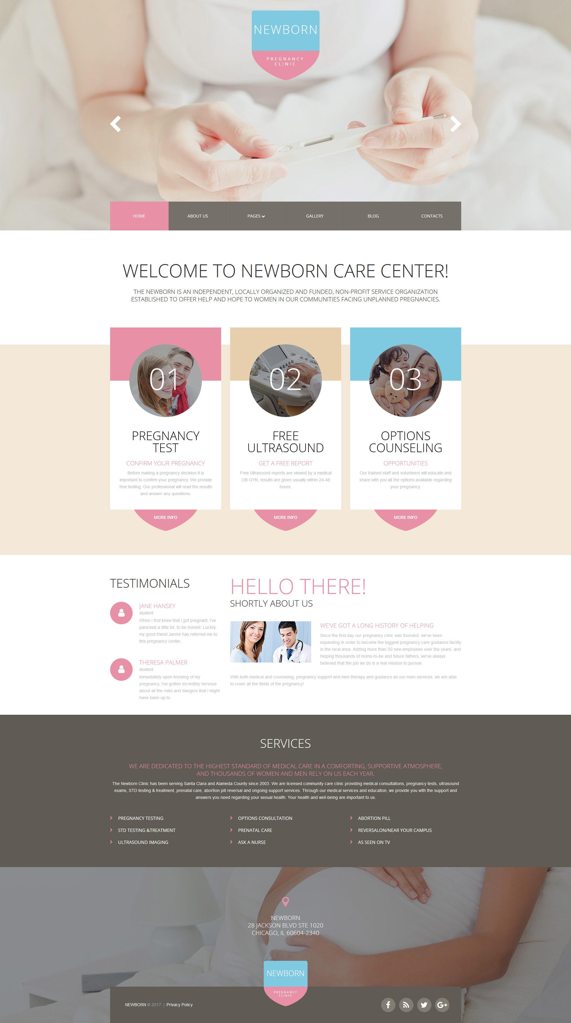 Responsywny szablon Joomla Newborn Responsive #62347 - zrzut ekranu