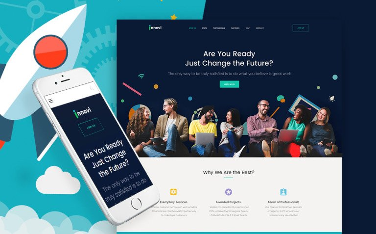Startup & Creative Digital Agency WordPress Theme New Screenshots BIG