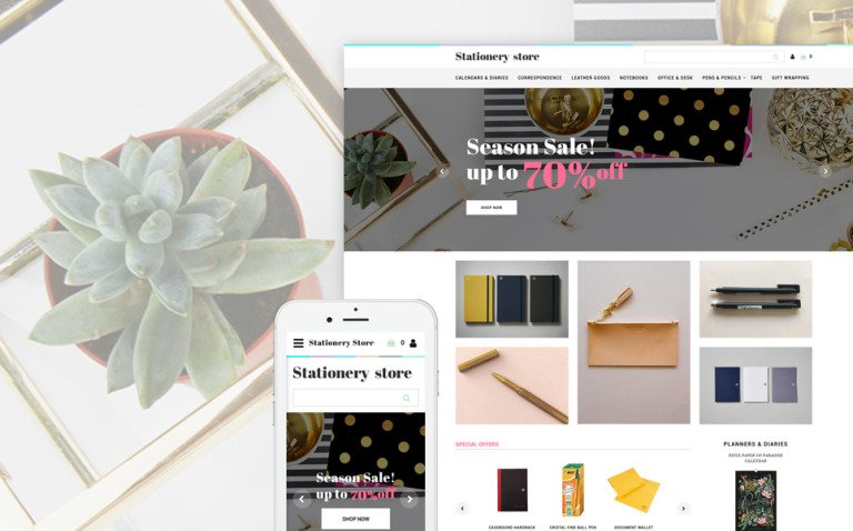 Stationery Store - Stationery Responsive OpenCart Template New Screenshots BIG
