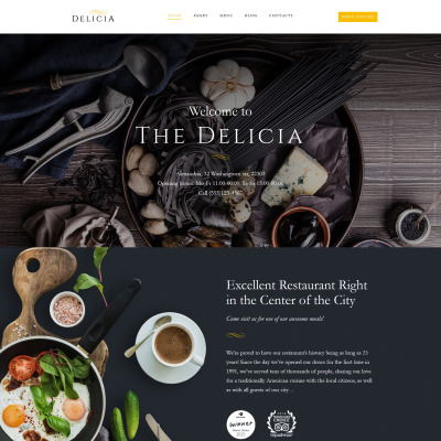 Temas WordPress para Sitios de Restaurantes y Alimentación ...
