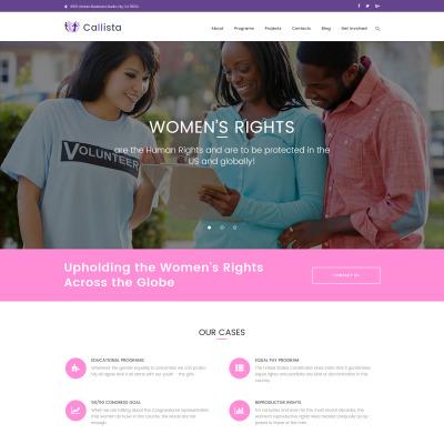Temas de WordPres para Sitios de Caridad