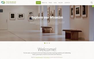 The Museum - Art & History Museum Responsive Joomla Template