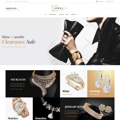 "VirtueMart шаблон ""Jewelrix - Jewelry Collection"" #62374"