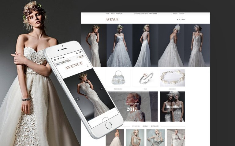 Wedding Responsive OpenCart Template New Screenshots BIG