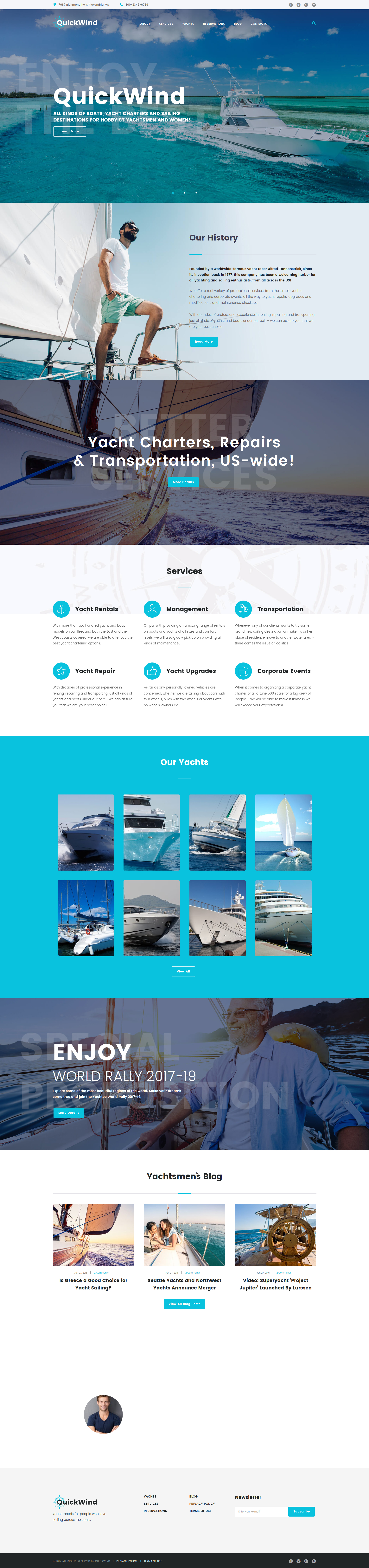 Yachting & Voyage Charter №62365 - скриншот