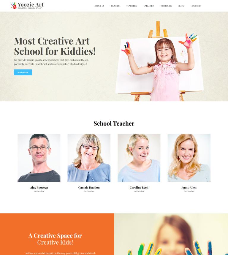 Kids School & Kindergarten WordPress Theme